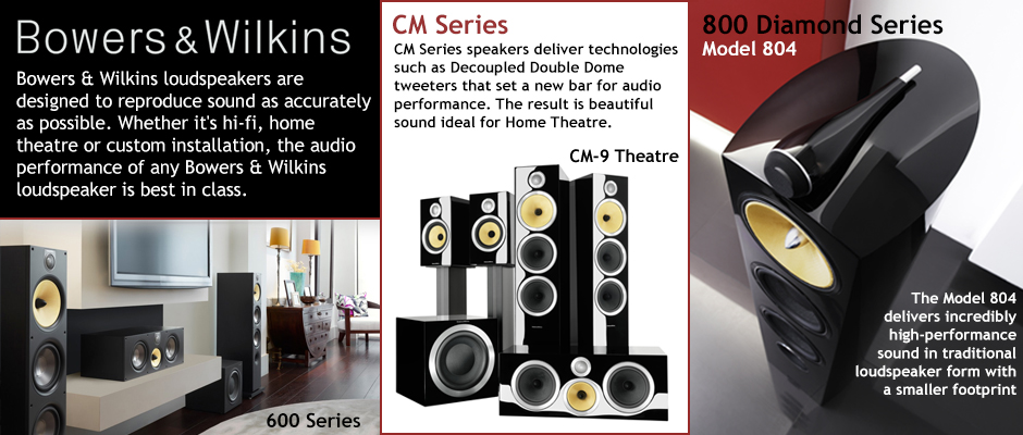 Bowers & Wilkins high-performance sound quality.
