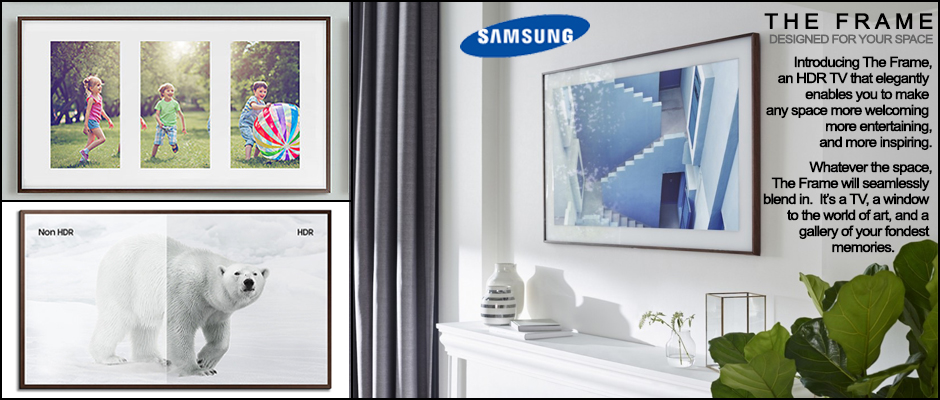 Samsung The Frame HDR TV
